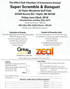 Allen Park Chamber Golf Outing @ Taylor Meadows Golf Club | Taylor | Michigan | United States