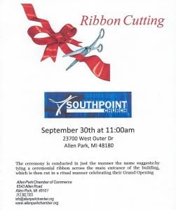 Ribbon Cutting @ Southpoint Church | Allen Park | Michigan | United States