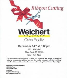 Ribbon Cutting @ Weichert Realtors | Allen Park | Michigan | United States
