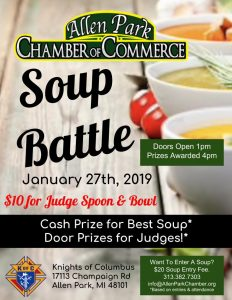Soup Battle @ Knights of Columbus