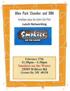 Lunch Networking @ Smokies on The Water