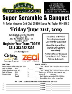 Super Scramble Golf Outing @ Taylor Meadows Golf Club