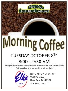 Morning Coffee @ Allen Park ELKS 2194