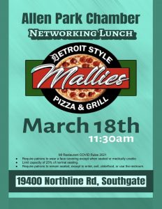 Networking Lunch @ Mallies