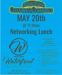 Networking Lunch @ The Waterfront, Wyandotte